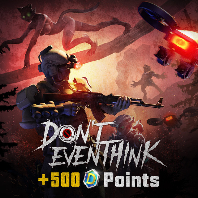 Don't Even Think: Starter Bundle (Full Game+ 500 D Points)