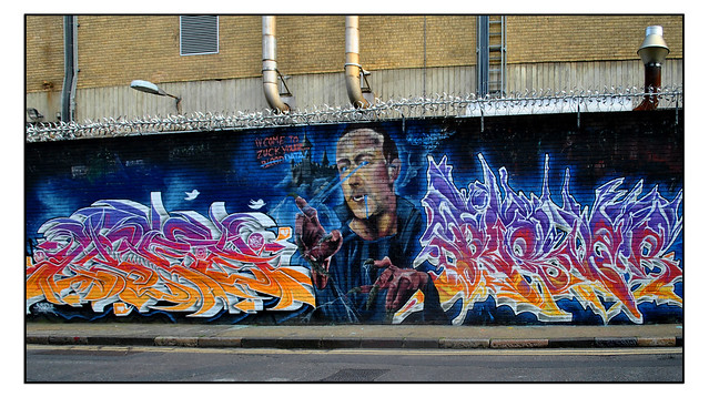 LONDON STREET ART by LIFER/ASPIRE/BUSTA