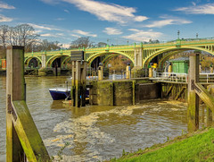Richmond Upon Thames Lock and Weir # 2