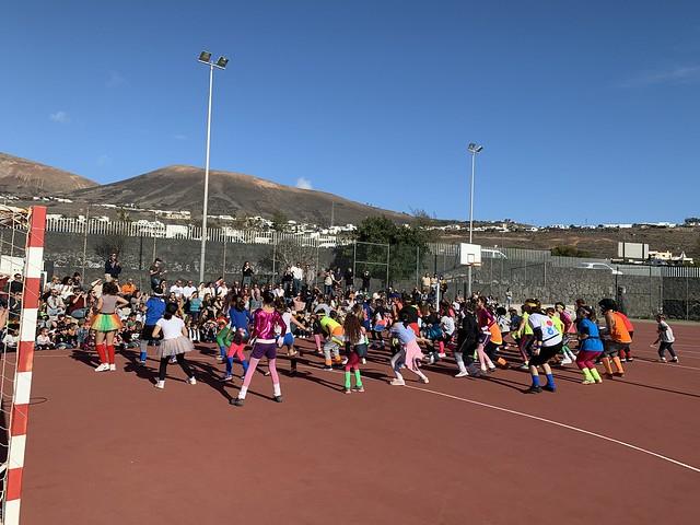 Carnaval en los colegios de colegios de Tías, Puerto del Carmen y La Asomada-Mácher