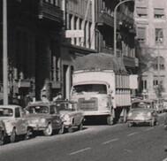 camió Nazar A al carrer Aragó BCN doble sentit