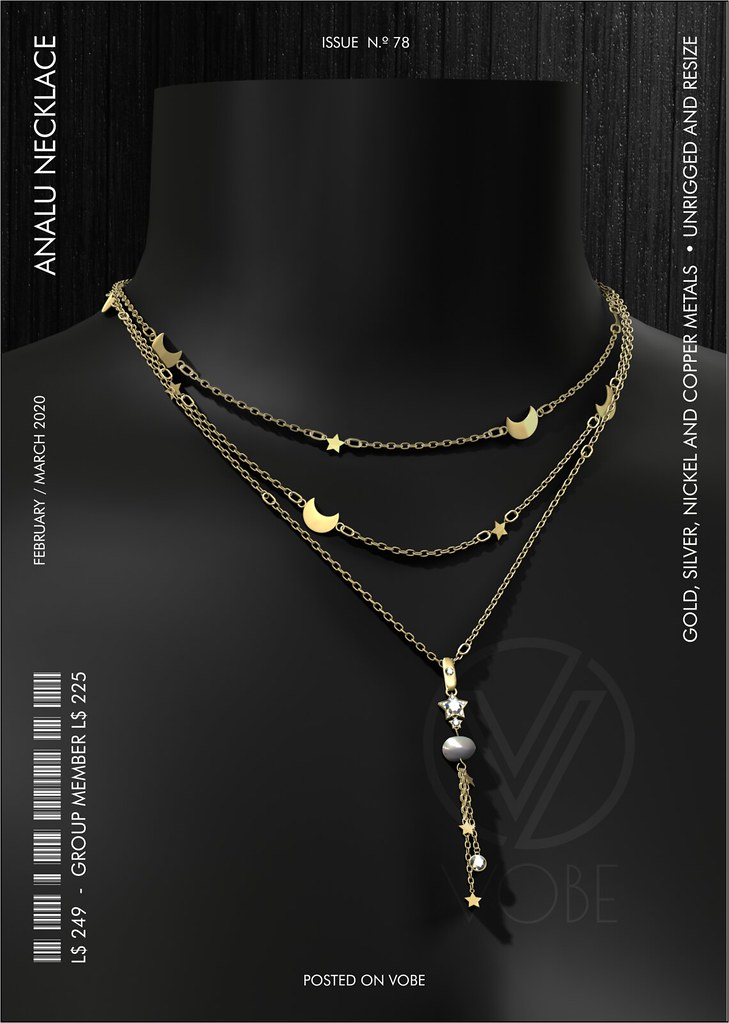 "VOBE for Belle. Events - ""Analu"" Necklace"