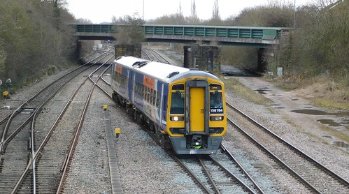 Northern 158784 - Trowell Junction, Nottinghamshire
