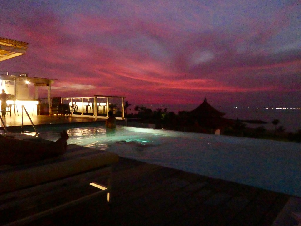 Sunset, Holiday Inn Express Baruna Bali