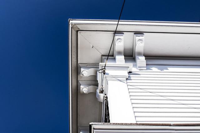 White Building--Detail