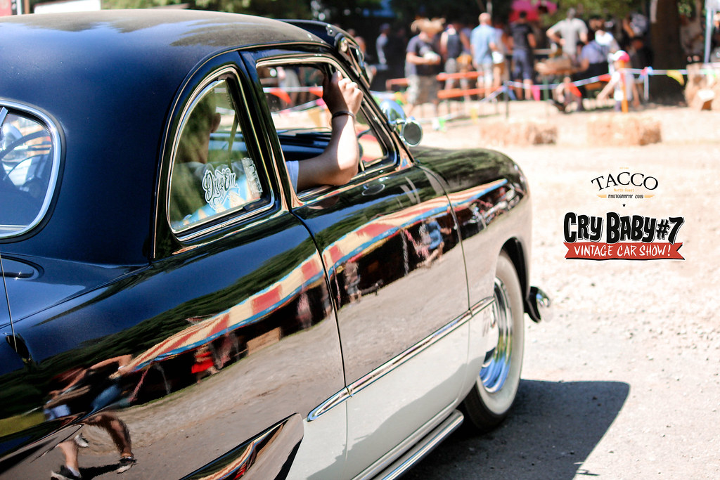Cry Baby #7, vintage car show