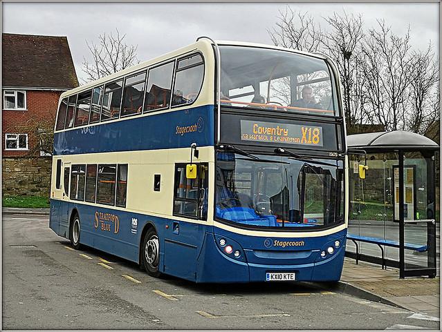Stratford Blue, at a grey Warwick................