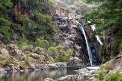 Majestic Swaziland Waterfall and Lake landscape really rocks**********