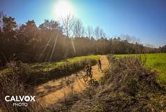On the way - Ronde Van Osonen gravel ride 2020