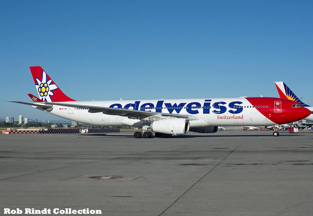 Edelweiss Air A330-343 HB-JHR