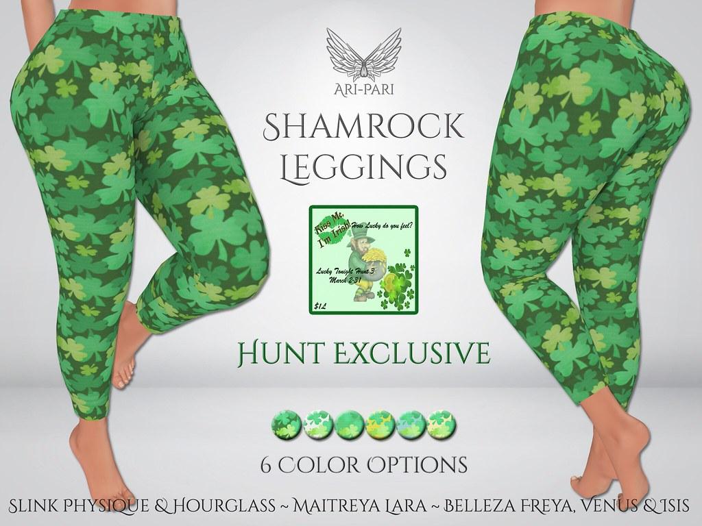 [Ari-Pari] Shamrock Leggings