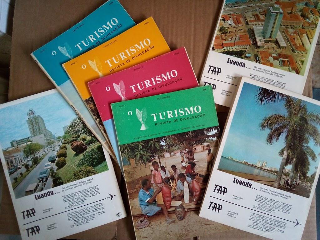 «O Turismo», Centro de Informação e Turismo de Angola, 1968-1974
