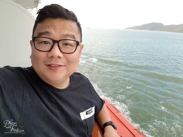genting dream cruise balcony view