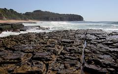 Triassic sedimentary rocks, Garie Formation - Turimetta beach