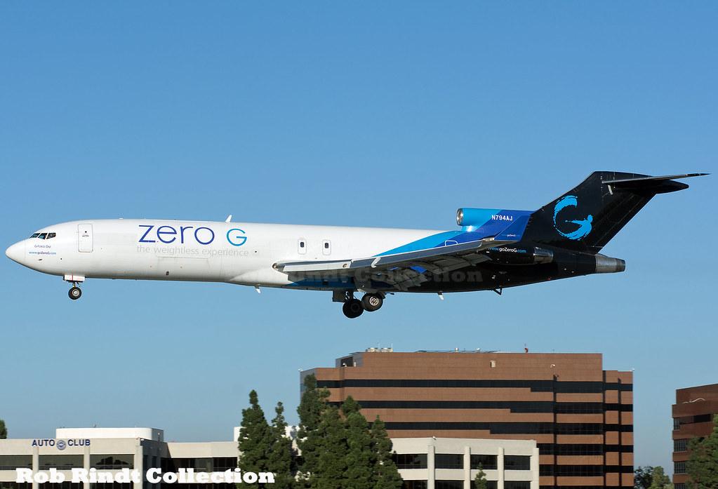Amerijet International (Zero-G) B727-227/Advanced N794AJ