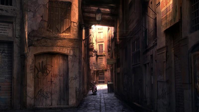 Wheelman - Alley-konceptet