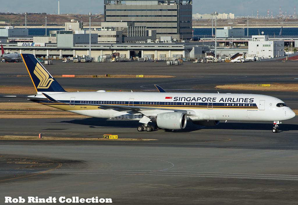 Singapore Airlines A350-941 9V-SMH