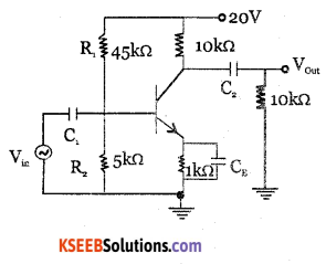 2nd PUC Electronics Question Bank Chapter 3 Transistor Amplifiers 38