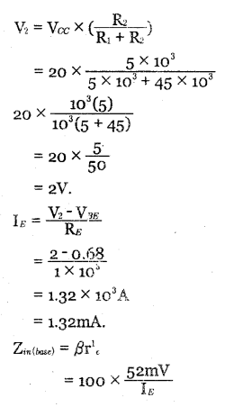 2nd PUC Electronics Question Bank Chapter 3 Transistor Amplifiers 39