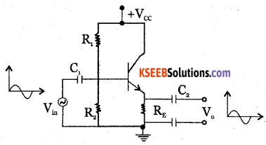 2nd PUC Electronics Question Bank Chapter 3 Transistor Amplifiers 27