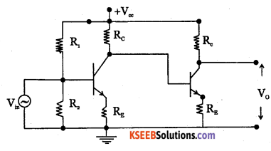 2nd PUC Electronics Question Bank Chapter 3 Transistor Amplifiers 11