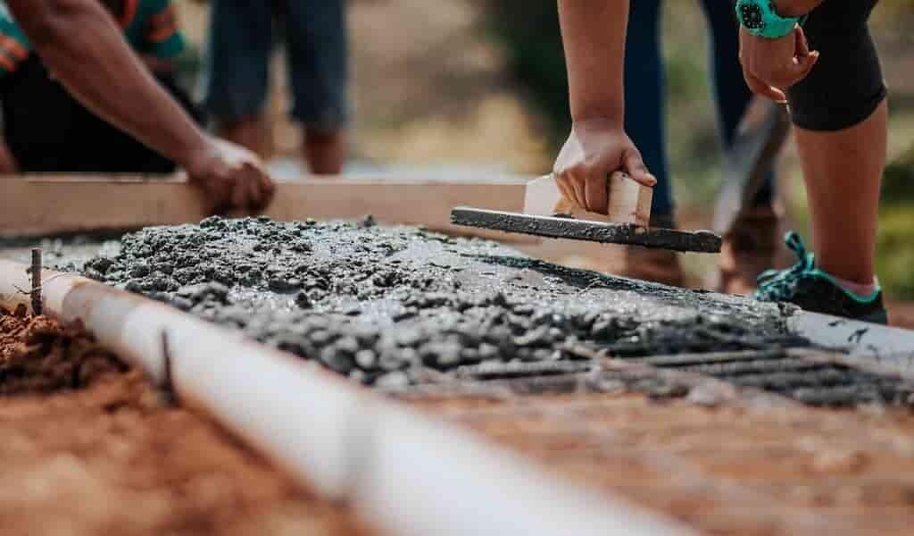 Les déchets de bois rendent le béton recyclé plus solide