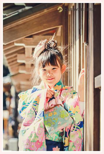 7歳の七五三 女の子 猿投神社 愛知県豊田市