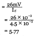 2nd PUC Electronics Question Bank Chapter 3 Transistor Amplifiers 45