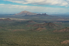 2020 02 Picacho Peak and Newman Peak from Ragged Top