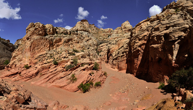 USA - Utah - Little Wild Horse Canyon