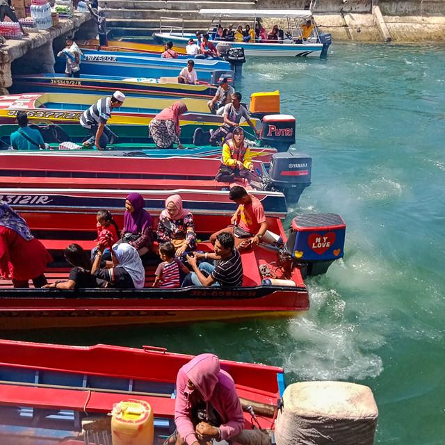 Kota Kinabalu public wharf