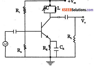 2nd PUC Electronics Question Bank Chapter 3 Transistor Amplifiers 34