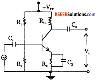 2nd PUC Electronics Question Bank Chapter 3 Transistor Amplifiers 23