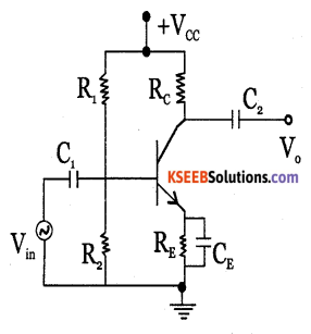 2nd PUC Electronics Question Bank Chapter 3 Transistor Amplifiers 6