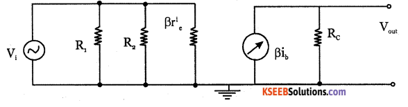2nd PUC Electronics Question Bank Chapter 3 Transistor Amplifiers 2