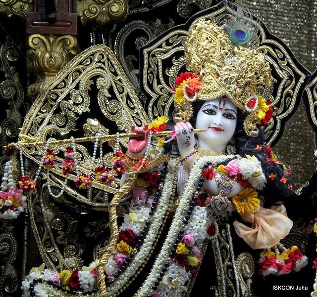 ISKCON Juhu Sringar Deity Darshan on 22nd Feb 2020