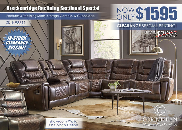 Breckenridge Reclining Sectional_Corinthian_98811