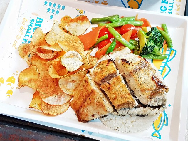 Fish On Grill Set Sea Bass
