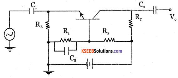 2nd PUC Electronics Question Bank Chapter 3 Transistor Amplifiers 26