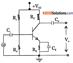 2nd PUC Electronics Question Bank Chapter 3 Transistor Amplifiers 25