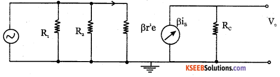 2nd PUC Electronics Question Bank Chapter 3 Transistor Amplifiers 18