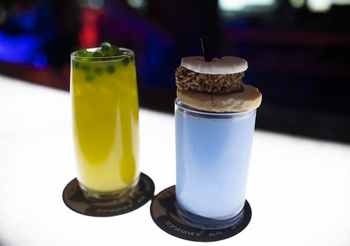 Drinks in a Galaxy Far Far Away, With Blue Milk | by Elfworld