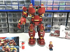 Hulkbuster after 6 bags..