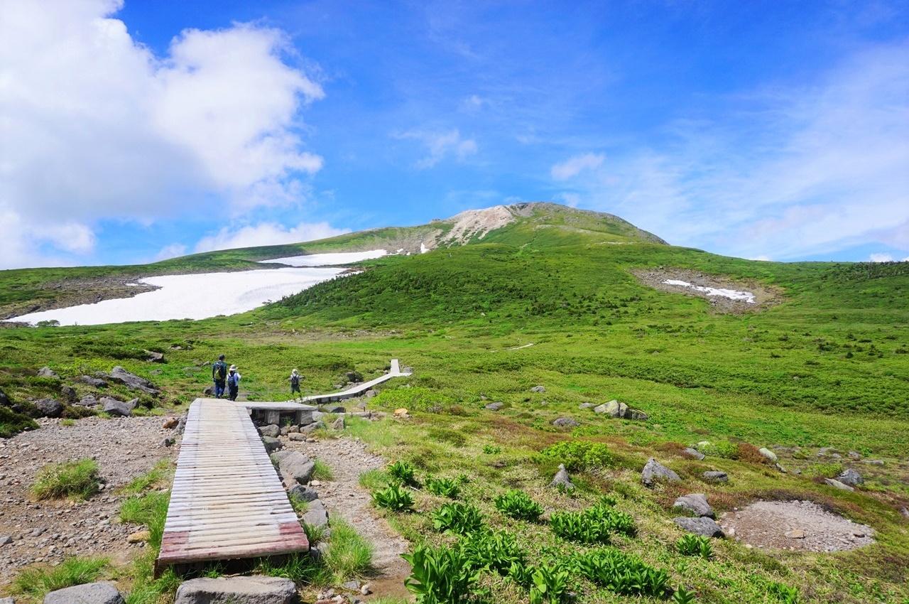 夏の白山 テント泊縦走登山