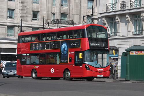 Arriva London HV295 LK17AFX