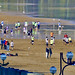 Futbol playero en la playa de Zarautz