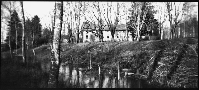 the parsonage next to the river