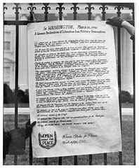 "'Women's Declaration of Liberation:"" 1970"