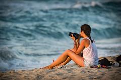 Ikaria/Ικαρία - Photographer on Mesakti Beach