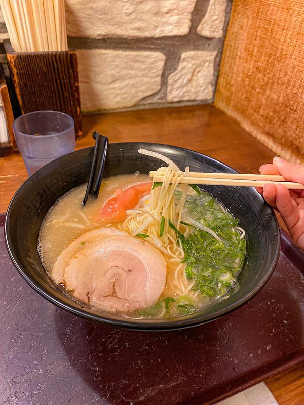 Fukuoka Nakasu Yatai Hakata Ramen